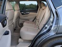 2014 Nissan Rogue SV w/ SL, 2014 Nissan Rogue SL rear seat, interior