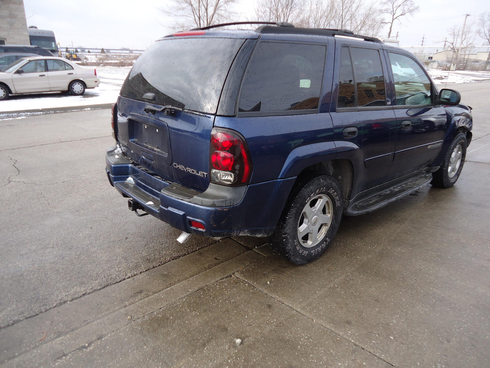 2002 chevrolet trailblazer lt 4wd picture exterior. Cars Review. Best American Auto & Cars Review