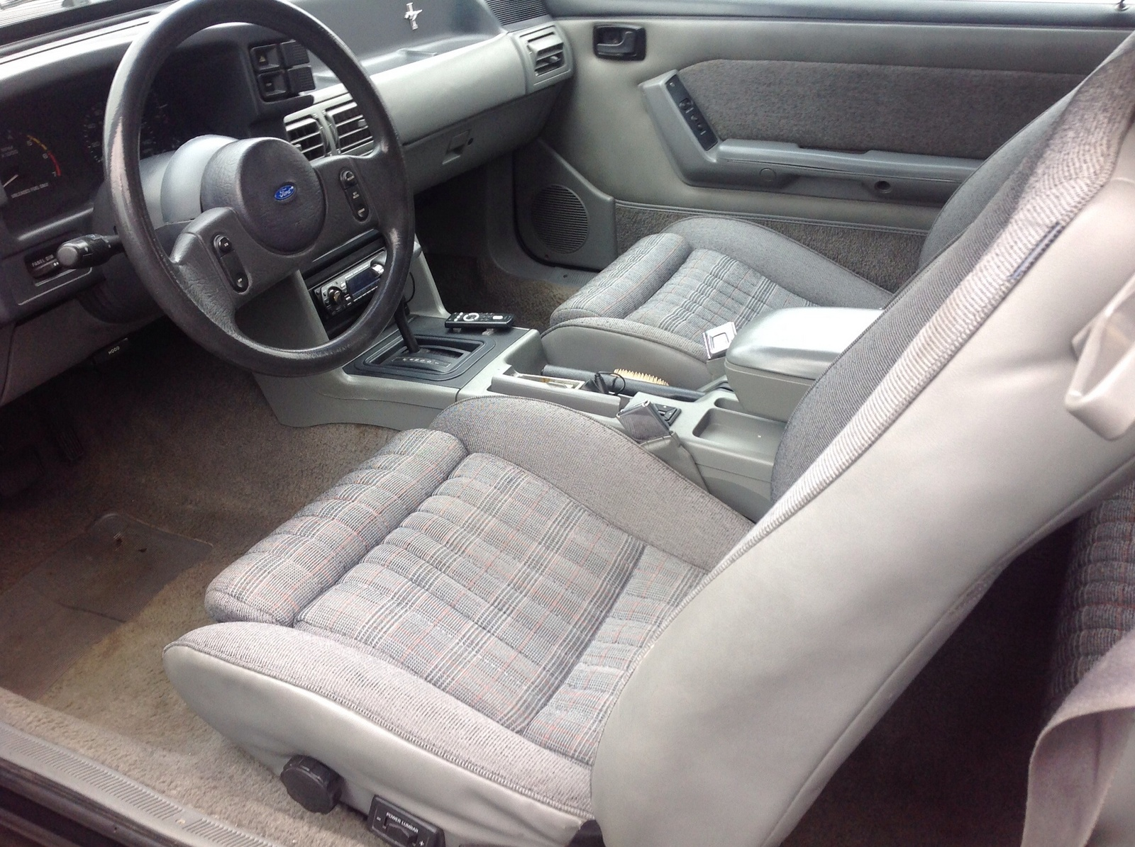 1989 Mustang Coupe Interior