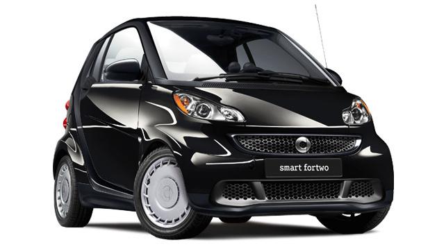 2014 smart fortwo, Front-quarter view, exterior, manufacturer