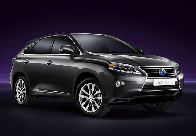2015 Lexus RX 450h, Front-quarter view, exterior, manufacturer, gallery_worthy