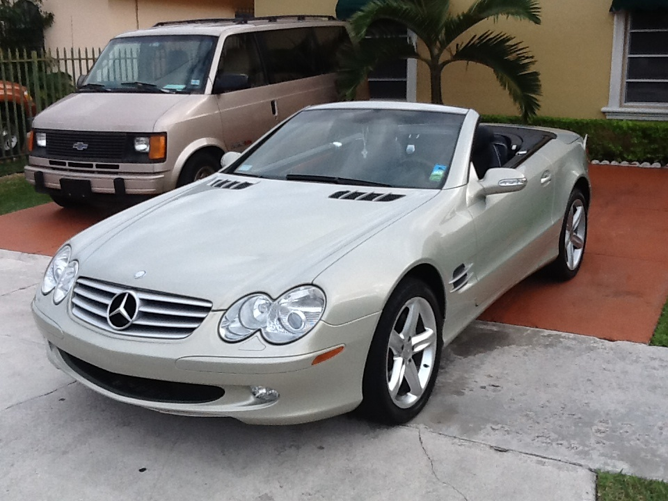 Picture of 2003 Mercedes Benz SL Class 2 Dr SL500 Convertible