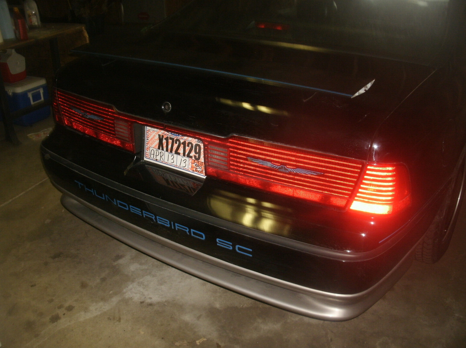 1990 Ford Thunderbird SC picture
