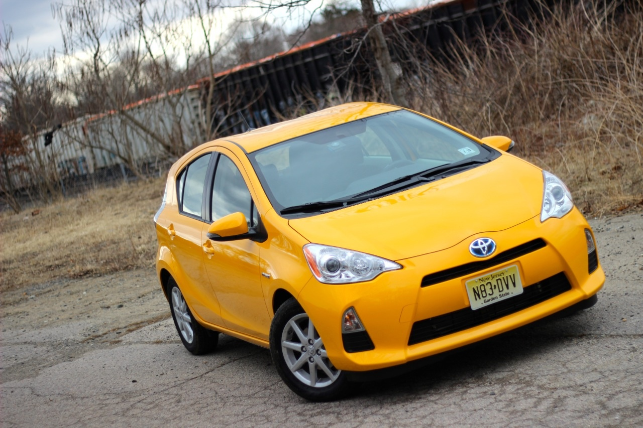 Shot of the 2014 Toyota Prius C