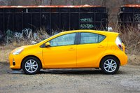 Side of the 2014 Toyota Prius C