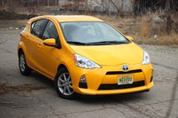 Front 3/4 of the 2014 Toyota Prius C