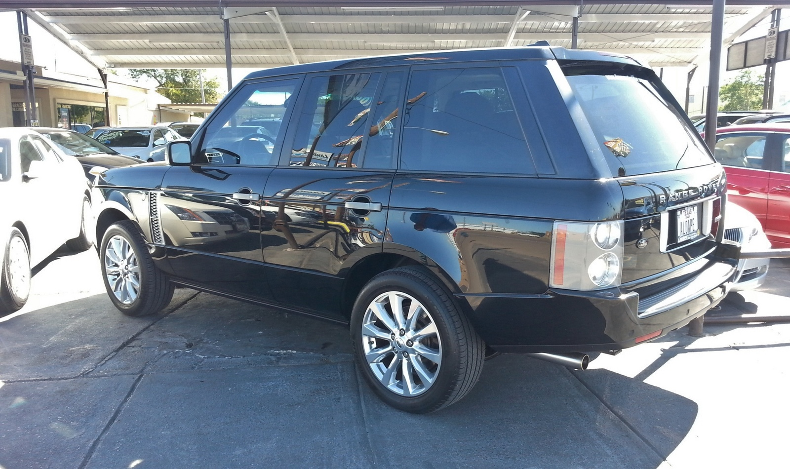 2008 land rover range rover supercharged for sale cargurus autos post. Black Bedroom Furniture Sets. Home Design Ideas