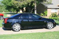 2006 Cadillac CTS-V Base, Side View, exterior