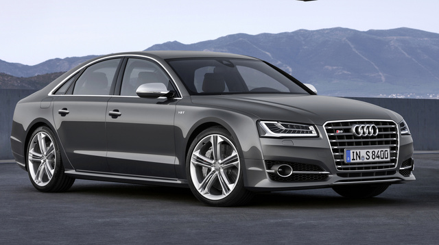 2015 Audi S8, Front-quarter view, exterior, manufacturer, gallery_worthy