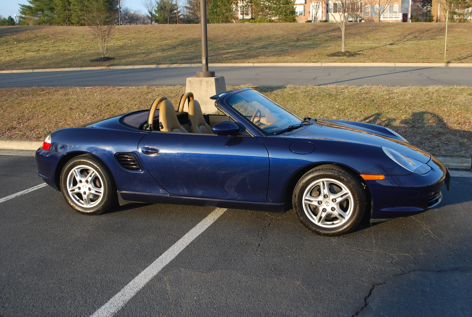 picture of 2003 porsche boxster base exterior. Black Bedroom Furniture Sets. Home Design Ideas