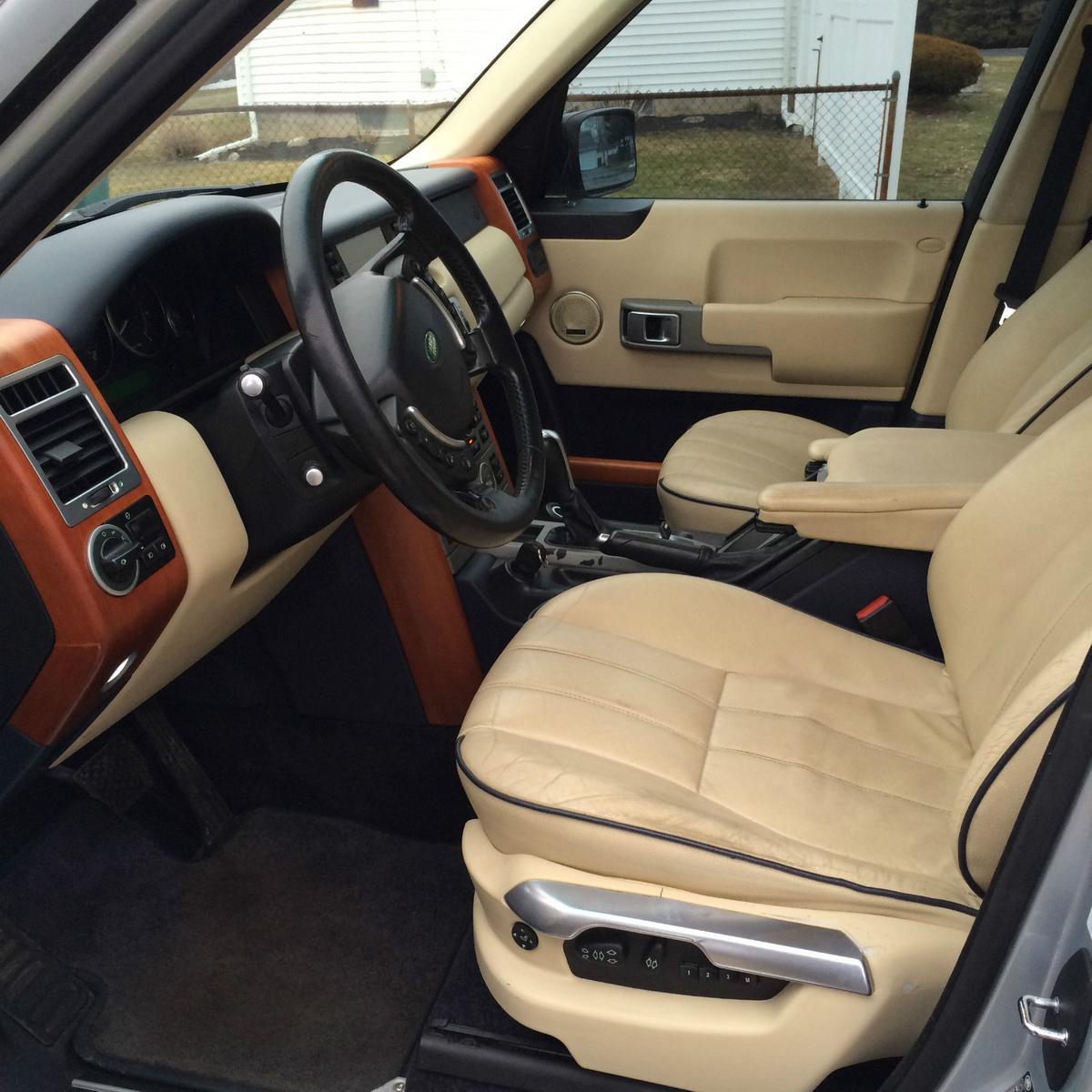 2003 Land Rover Range Rover Interior: 2006 Land Rover Range Rover