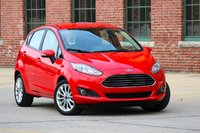Front 3/4 of the 2014 Ford Fiesta, exterior
