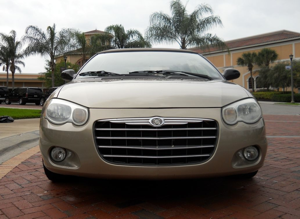 picture of 2004 chrysler sebring touring convertible exterior. Black Bedroom Furniture Sets. Home Design Ideas