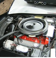 Picture of 1975 Chevrolet Corvette Convertible, engine