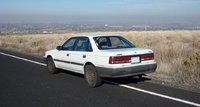 1989 Mazda 626 DX, Back, exterior, gallery_worthy