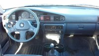 1989 Mazda 626 DX, Front dash, interior
