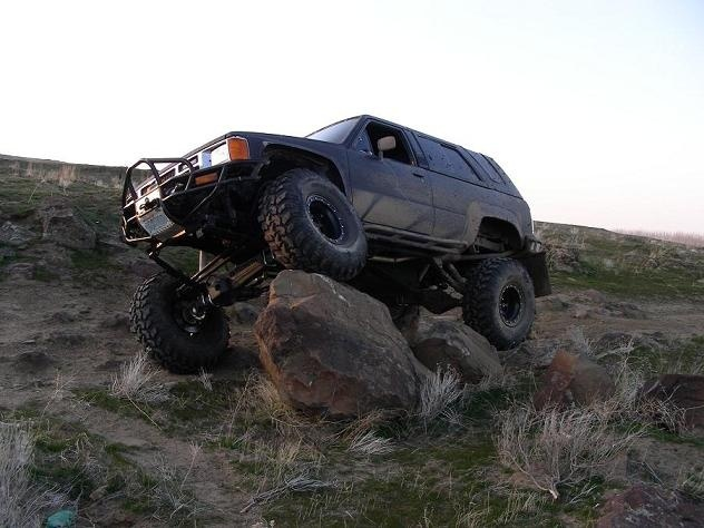 1988 Toyota 4Runner 2 Dr Deluxe, 1988 Toyota 4Runner Trail Rig, exterior, gallery_worthy