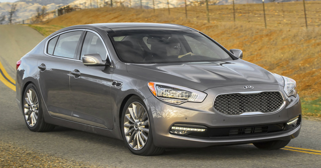 2015 Kia K900, Front-quarter view, exterior, manufacturer, gallery_worthy