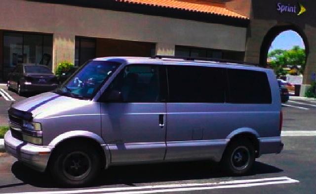 Chevrolet Astro Pic X
