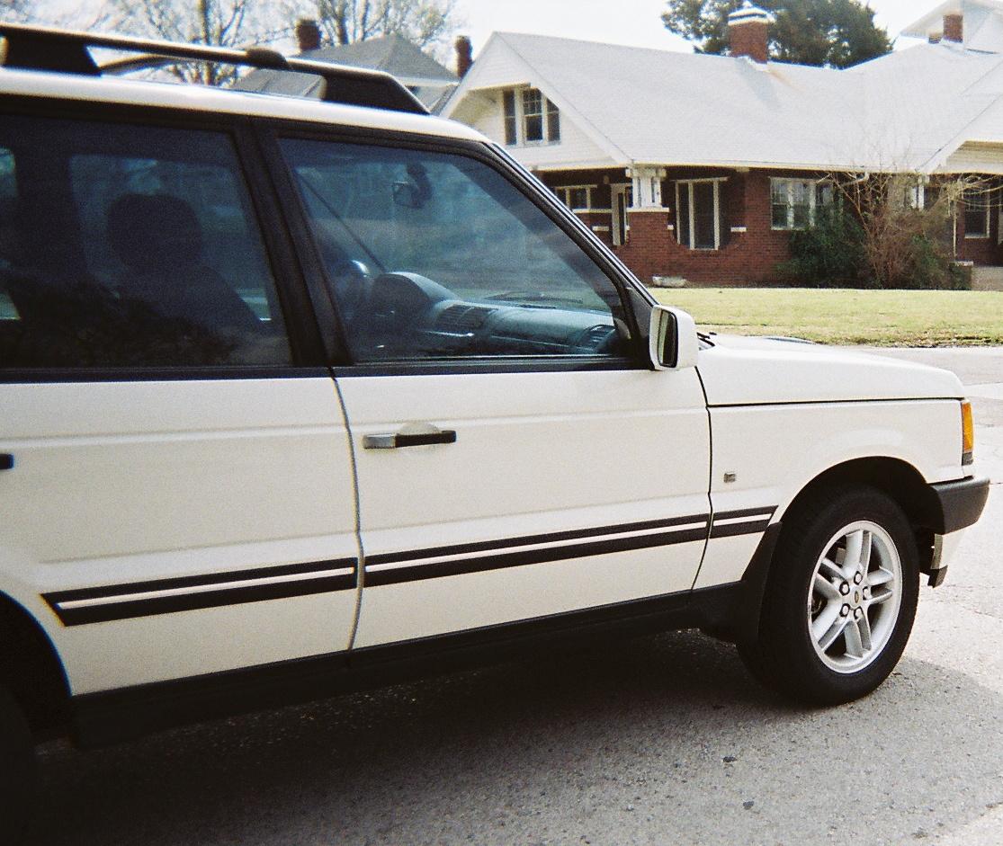 2002 Land Rover Range Rover Interior: 2002 Land Rover Range Rover