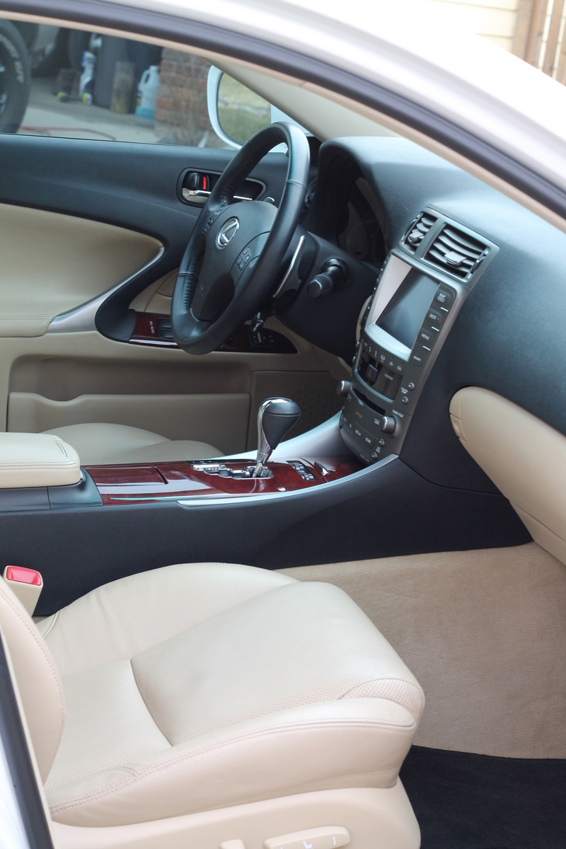 picture of 2007 lexus is 250 awd interior. Black Bedroom Furniture Sets. Home Design Ideas