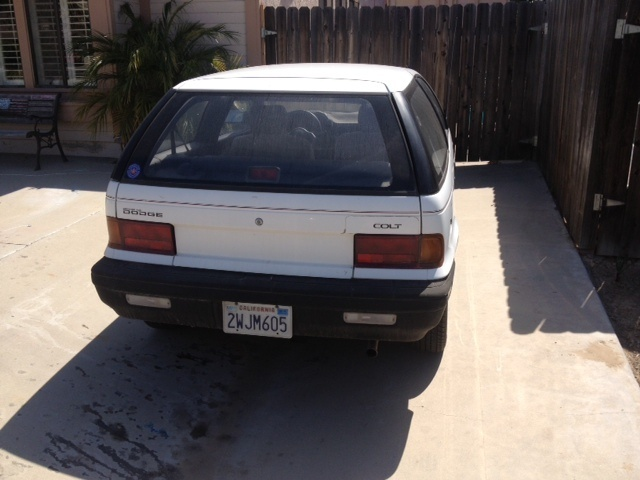 Picture of 1991 Dodge Colt 2 Dr GL Hatchback