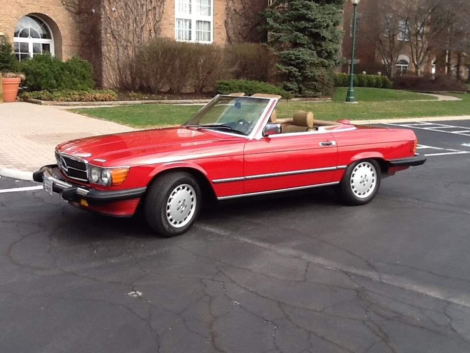 Picture of 1986 Mercedes-Benz 560-Class 560SL Convertible