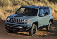 2015 Jeep Renegade, Front-quarter view, exterior, manufacturer