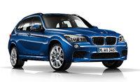 2015 BMW X1, Front-quarter view, exterior, manufacturer