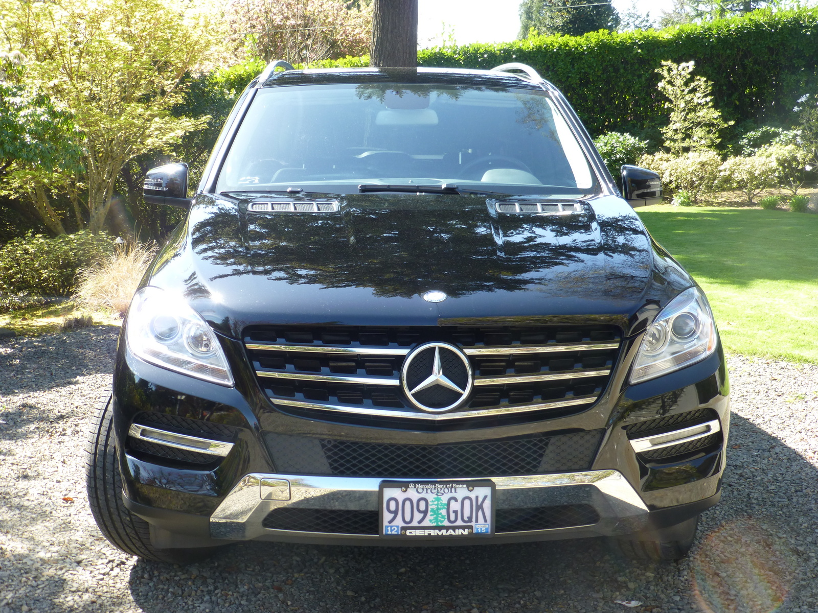 Picture of 2013 mercedes benz m class ml350 4matic exterior for Mercedes benz 2013 ml350 reviews