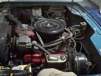Picture of 1974 International Harvester Scout, engine