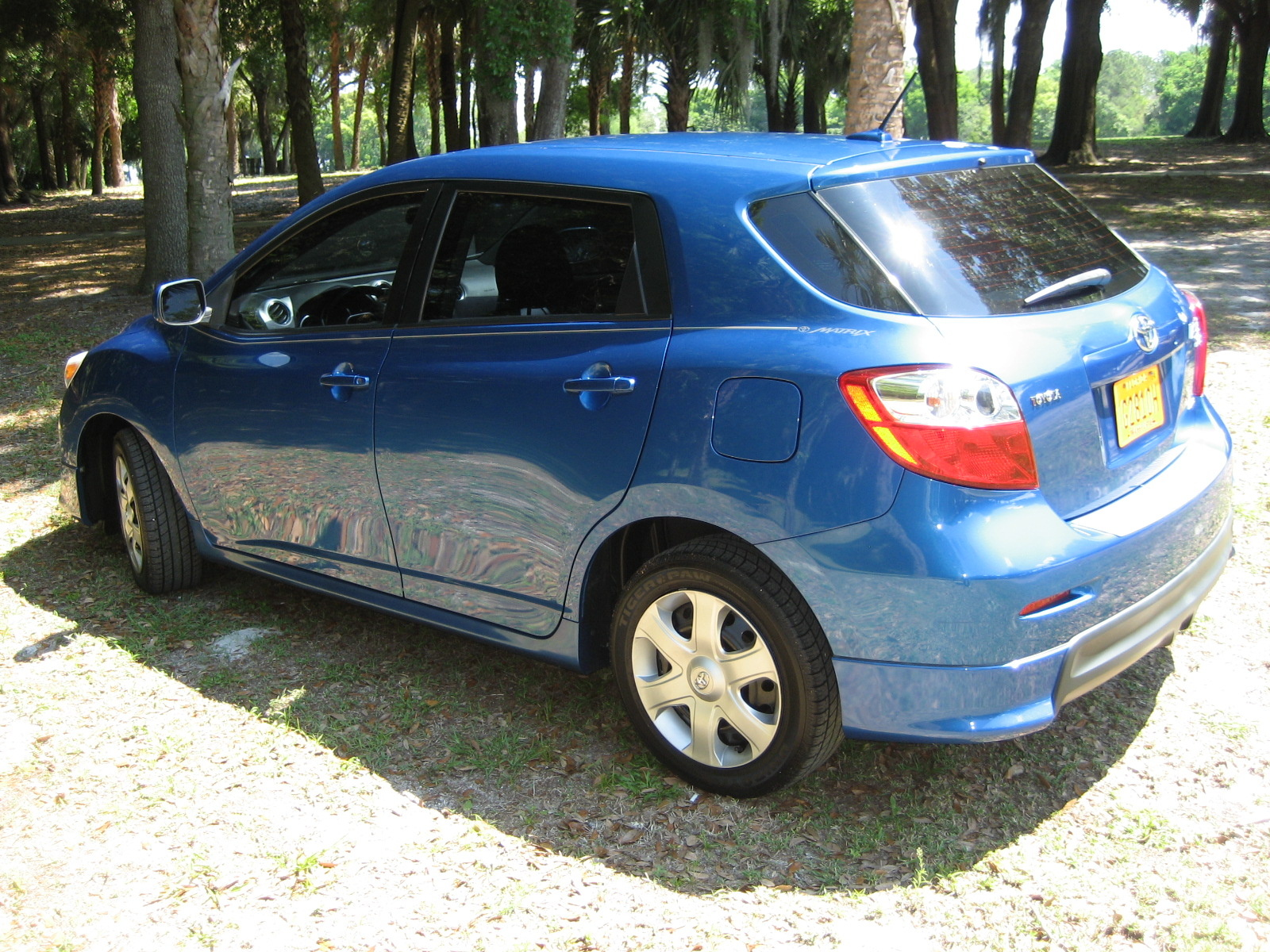 picture of 2009 toyota matrix s exterior. Black Bedroom Furniture Sets. Home Design Ideas