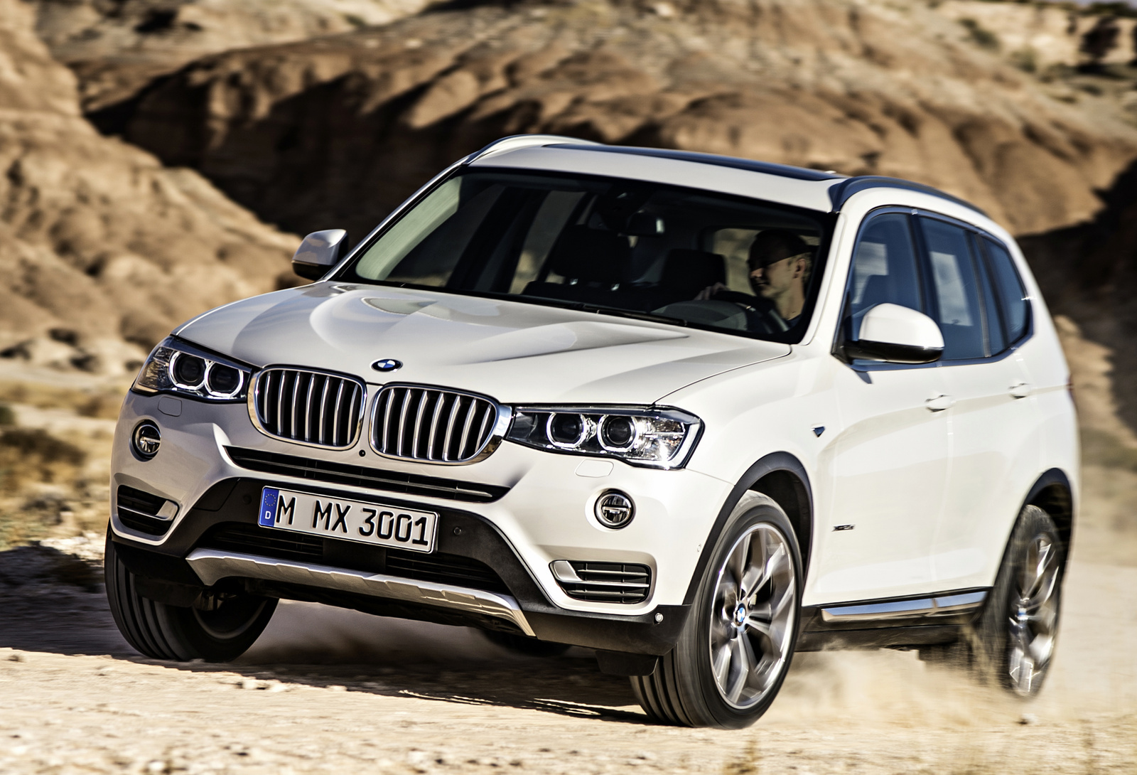 2015 bmw x3 front quarter view exterior manufacturer gallery_worthy