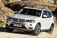 2015 BMW X3, Front-quarter view, exterior, manufacturer