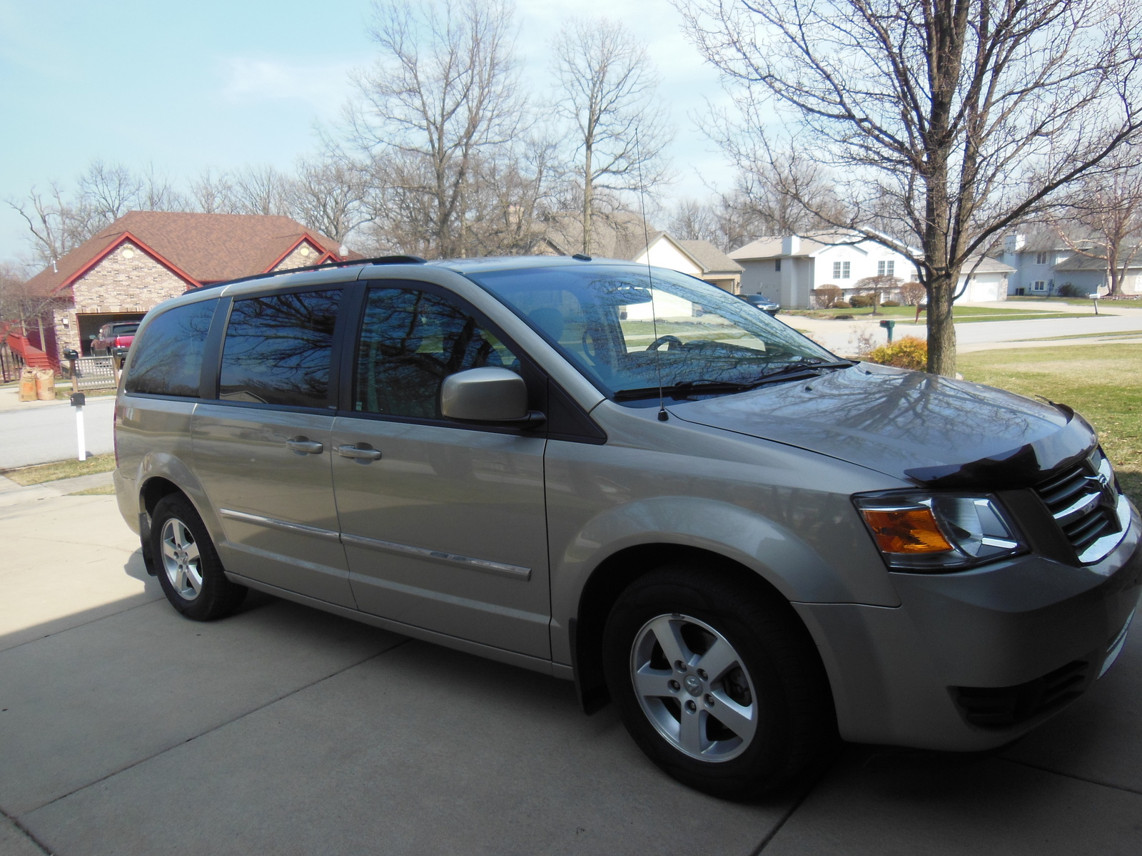 picture of 2008 dodge grand caravan sxt exterior. Cars Review. Best American Auto & Cars Review