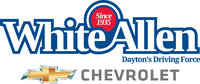 White Allen Chevrolet logo