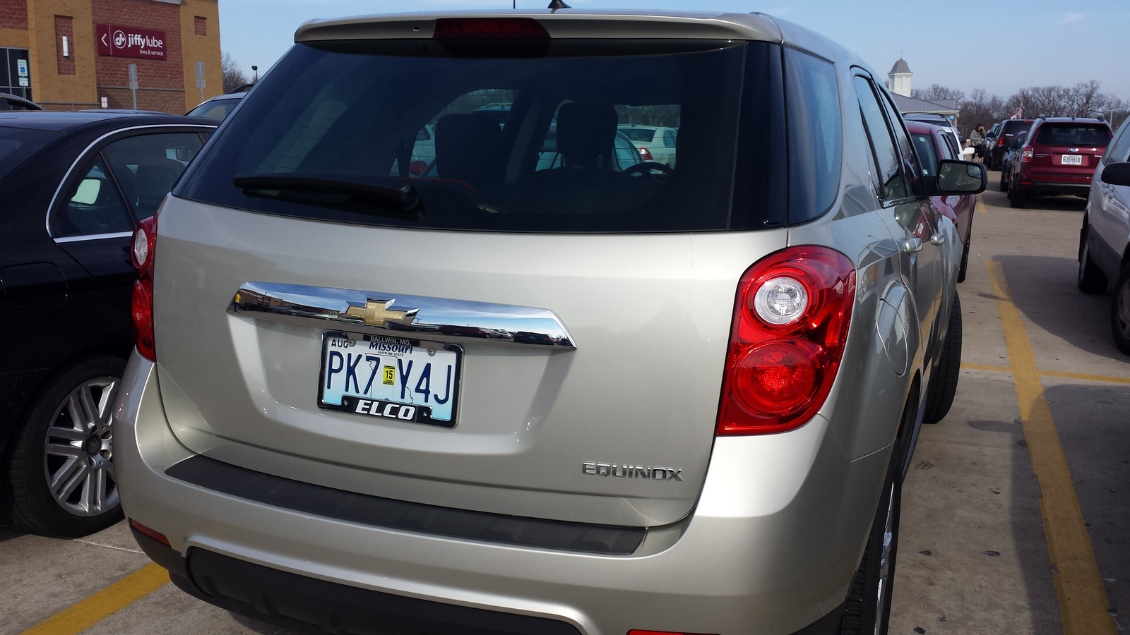 picture of 2013 chevrolet equinox ls exterior. Cars Review. Best American Auto & Cars Review
