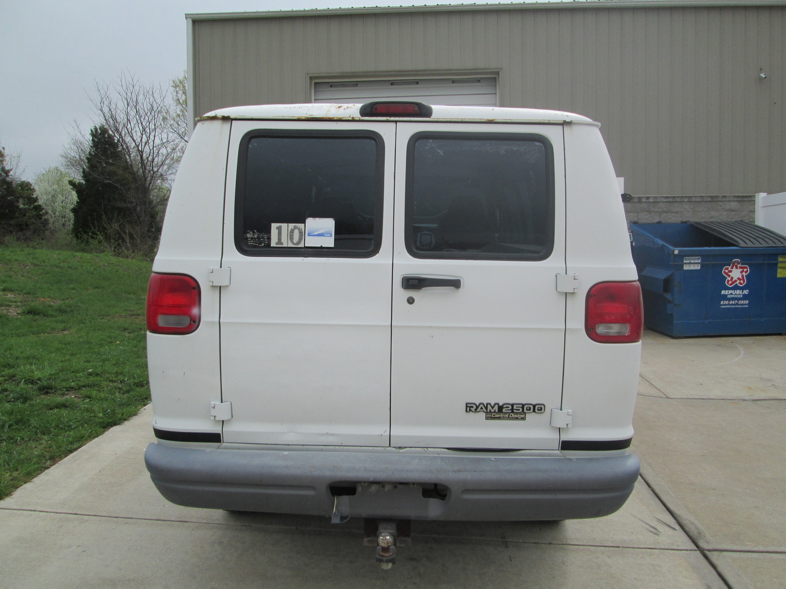 Picture of 2000 Dodge Ram Van 3 Dr 1500 Cargo Van