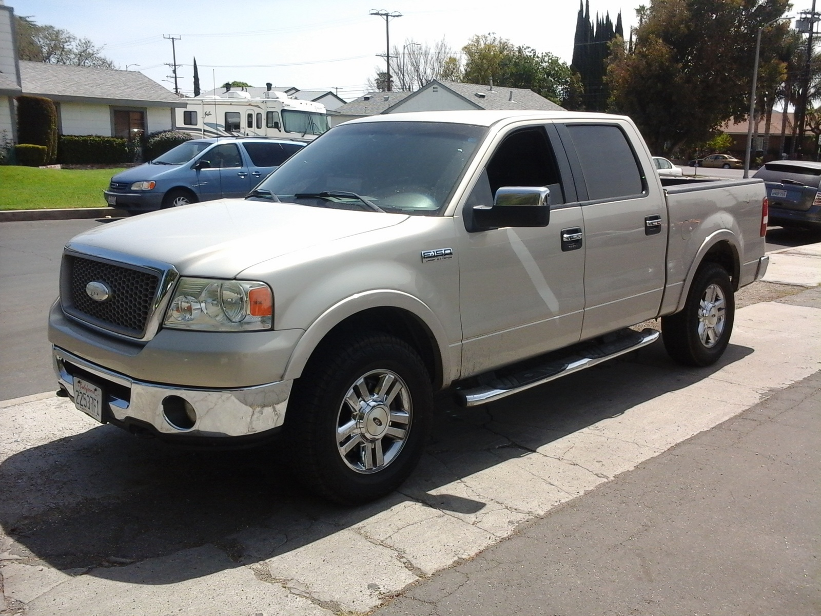 2006 ford f 150 supercrew king ranch 4wd specs and. Black Bedroom Furniture Sets. Home Design Ideas