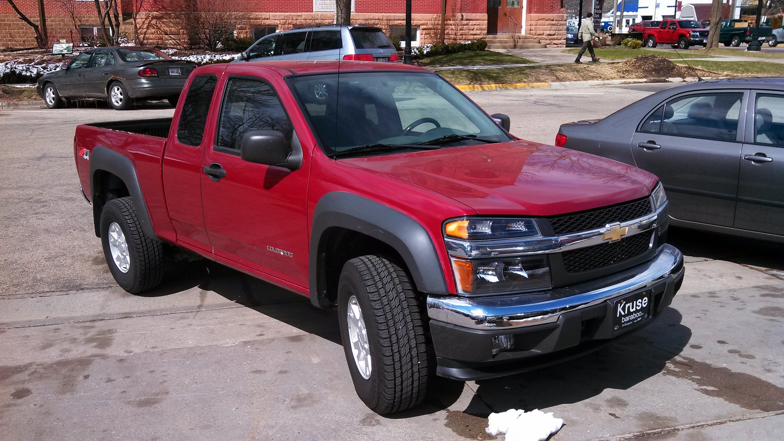 picture of 2005 chevrolet colorado 4 dr z71 ls 4wd extended cab sb. Cars Review. Best American Auto & Cars Review