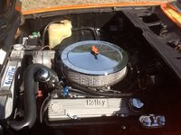 1974 Chevrolet Vega picture, engine