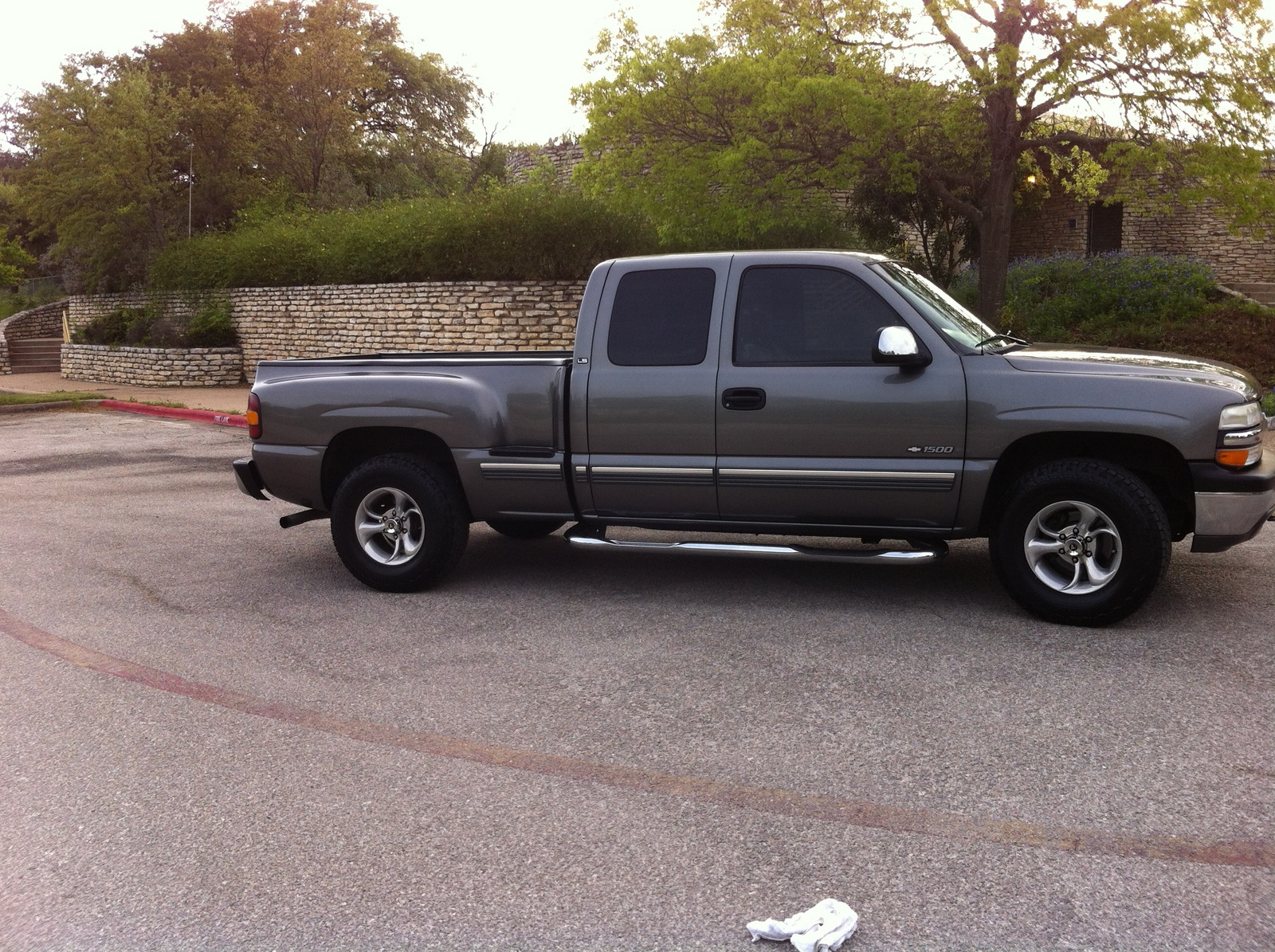 picture of 2000 chevrolet silverado 1500 ext cab stepside short bed. Cars Review. Best American Auto & Cars Review
