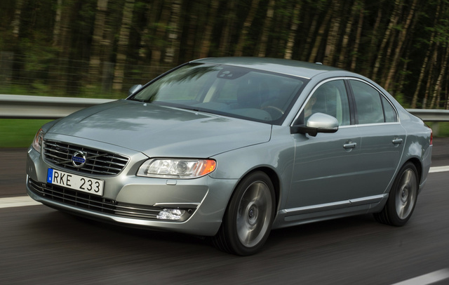 2015 Volvo S80, Front-quarter view, exterior, manufacturer