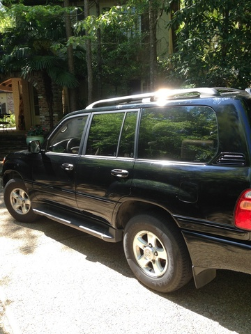 Picture of 1998 Toyota Land Cruiser 4 Dr STD 4WD SUV, exterior