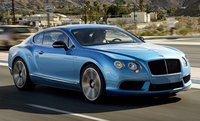2015 Bentley Continental GT, Front-quarter view, exterior, manufacturer