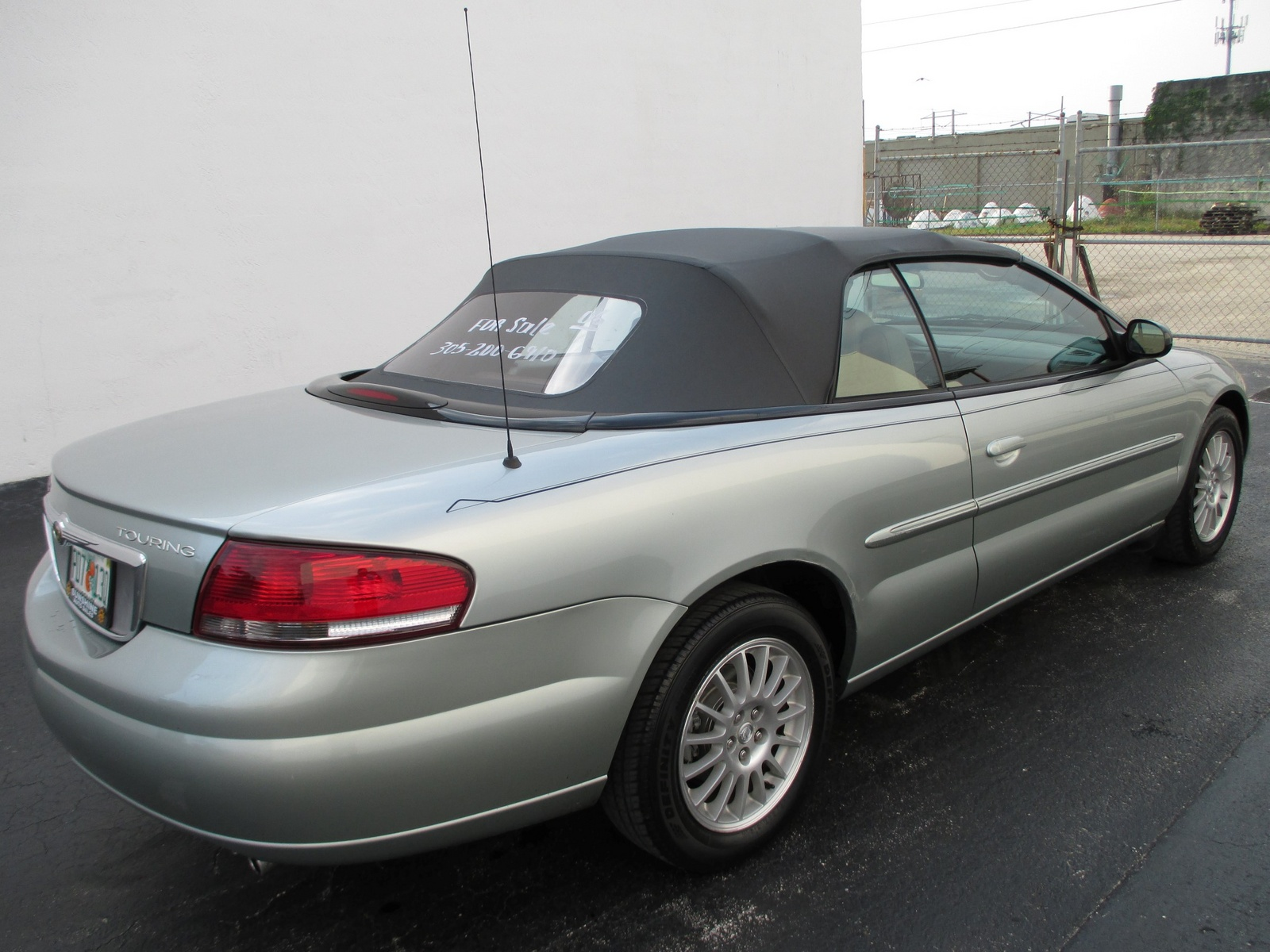 picture of 2006 chrysler sebring touring convertible exterior. Cars Review. Best American Auto & Cars Review