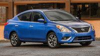 2015 Nissan Versa, Front-quarter view, exterior, manufacturer