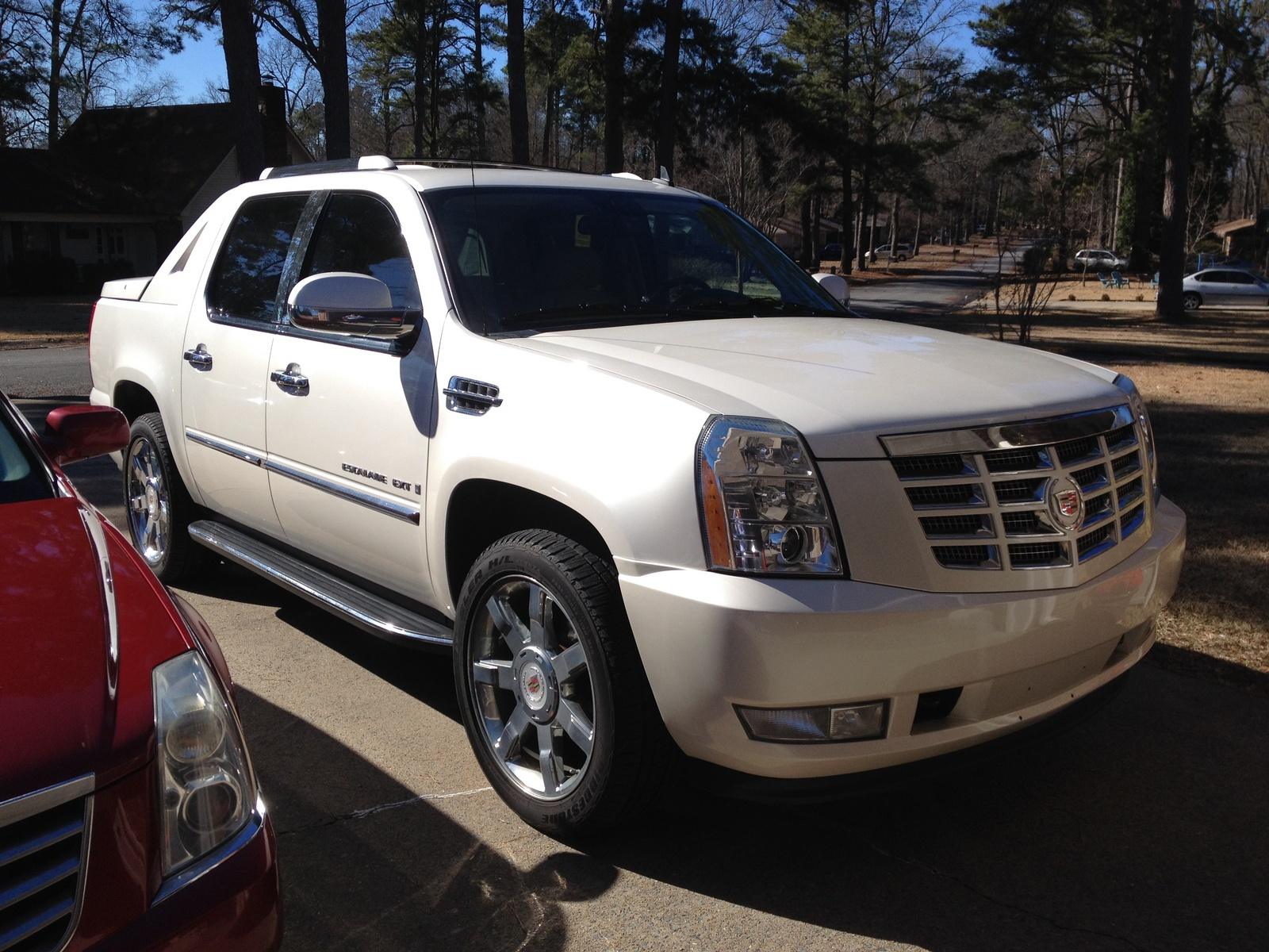 2008 cadillac escalade ext overview cargurus. Cars Review. Best American Auto & Cars Review