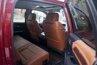 2014 Toyota Tundra, Rear seats, interior