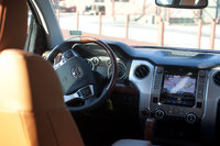 2014 Toyota Tundra, View from the back seat, interior